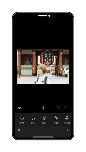 Remly edit screen image